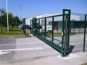 SSSG Sliding Gate - Security Solutions GB